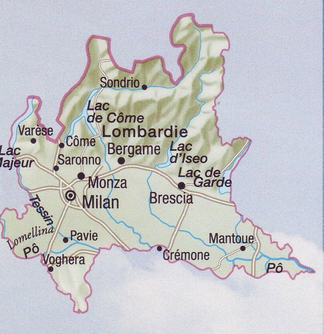 Les pâtes en Italie, régions par régions